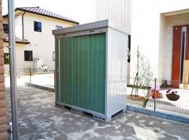 福岡県大野城市 Y様邸 物置設置施工例