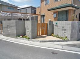 福岡県大野城市 Y様邸 門まわり施工例