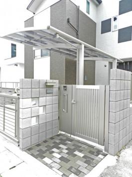 福岡県福岡市早良区 M様邸 新築外構施工例