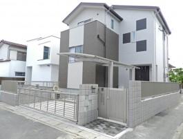 福岡県福岡市早良区 M様邸 門まわり施工例