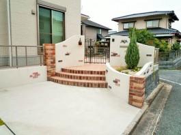 福岡県大野城市 M様邸 門まわり施工例