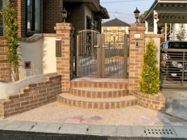 福岡県福岡市西区 S様邸 ガーデン ガーデニング 洋風ガーデン外構工事 施工例