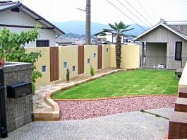 福岡県大野城市 K様邸 ガーデン ガーデニング 洋風ガーデン外構工事 デザイン