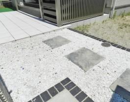 福岡県大野城市 Y様邸 砂利施工例