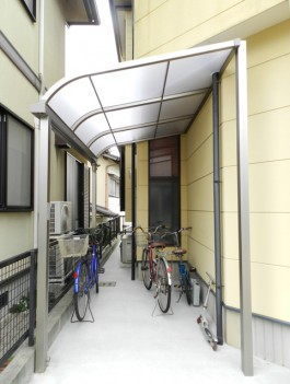 福岡県大野城市T様邸 テラス・屋根施工例