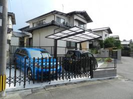 福岡県春日市N様邸 カーポート施工例