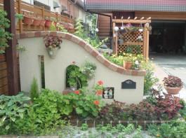 福岡県春日市 Y様邸 ガーデン ガーデニング 洋風ガーデン外構工事 デザイン
