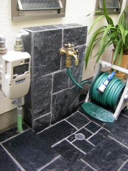 福岡県春日市 G様邸 立水栓施工例