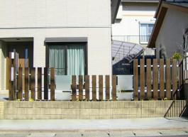 福岡県小郡市 Y様邸 エクステリア フェンス 目隠し 施工例