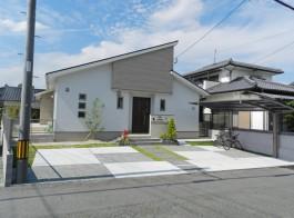 福岡県久留米市 S様邸 新築外構 門まわり 施工例