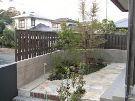 福岡県小郡市 T様邸 新築外構 施工例