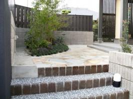 福岡県小郡市 T様邸 門まわり 新築外構 施工例