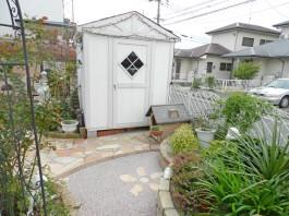福岡県筑紫郡那珂川町 M様邸 物置設置施工例