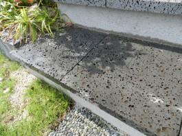 福岡県久留米市 S様邸 新築外構 門まわり 階段 施工例