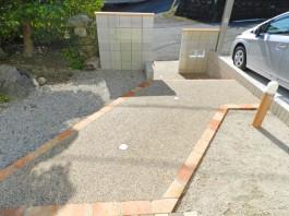 福岡県福岡市早良区 G様邸 アプローチ 門まわり外構工事 デザイン