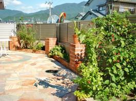 福岡県粕屋郡宇美町 M様邸 リフォーム ガーデン  ガーデニング 外構工事 デザイン