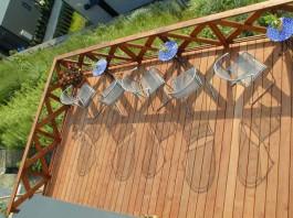 福岡県 ウッドデッキ バルコニー ガーデン 施工例