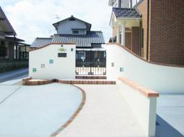 福岡県中間市 S様邸 門まわり アプローチ 新築外構 施工例 デザイン
