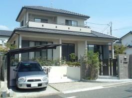 福岡県 Y様邸 門まわり 新築外構 施工例 デザイン 和モダン