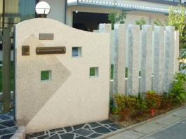 福岡県筑後市 M様邸 和風 庭園 外構工事 エクステリア 施工例 デザイン 庭 石 モダン
