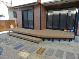 福岡県と佐賀県のウッドデッキ・ガーデン工事は太陽ハウジング。