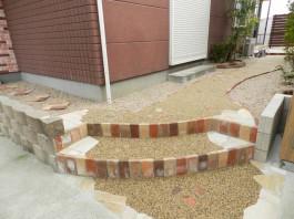 福岡県太宰府市 Y様邸 リフォーム 洋風 ガーデン 外構 工事 デザイン