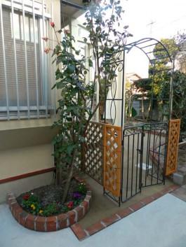 お庭で広がるガーデニングと家庭菜園生活。