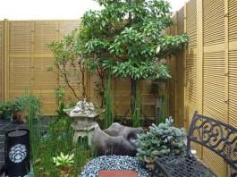 福岡県春日市の趣ある和モダンの庭・和風ガーデン・坪庭・ガーデニング工事例。わびさび。