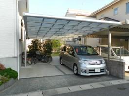 既存の駐車場にカーポートを後付しました!