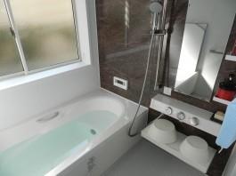 お風呂をユニットバスにリフォームしました。