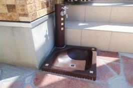 福岡県筑紫郡 M様邸 立水栓施工例(リフォーム)