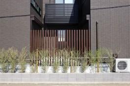 福岡市南区 W様邸 フェンス施工例