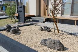熊本県合志市 Y様邸 門まわり施工例(新築)