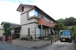福岡県糟屋郡 K様邸 カーポート施工例、駐車スペースを全面リフォームしました!