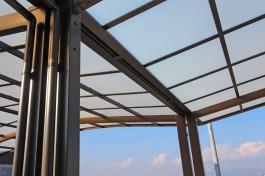 福岡県大川市 I様邸 カーポート施工例、カーポートを連結しました。