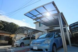 福岡県早良区N様邸、複数のカーポートを施工しました!